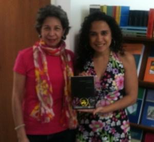 Con Mariana Libertad Suárez