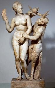 Afrodita, Eros y Pan