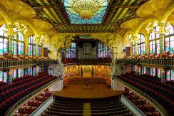 Palacio de la Música Catalana en Barcelona