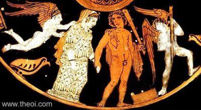 Heracles y Hebe