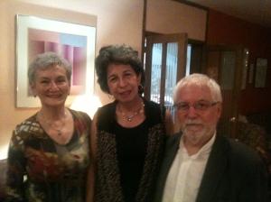 Con Joaquín Marta Sosa y su esposa