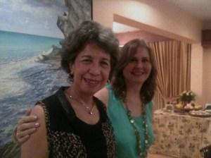 Con Olga Fuchs