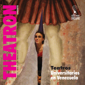 Portada revista Theatron