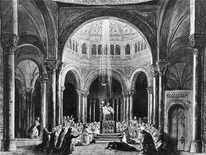 Parsifal. Producción original de Paul von Joukowsky, 1882