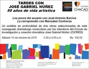 Tardes con José Gabriel-Biblioteca