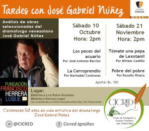 Tardes con José Gabriel-CICRED