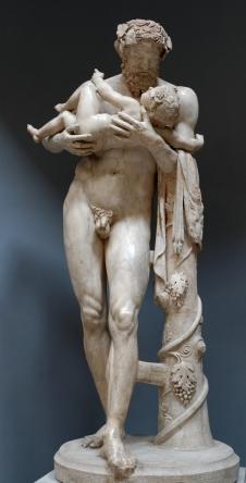 11. Sileno con Dioniso niño