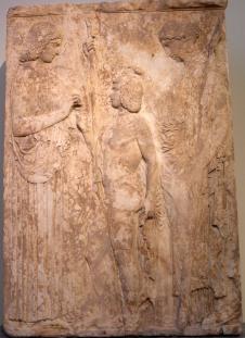 18. Deméter, Perséfone y Triptólemo