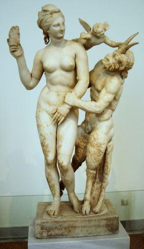 2. Afrodita, Pan y Eros